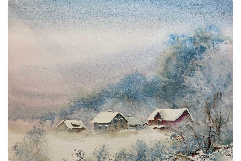 Akvarellkurs Motiv 1